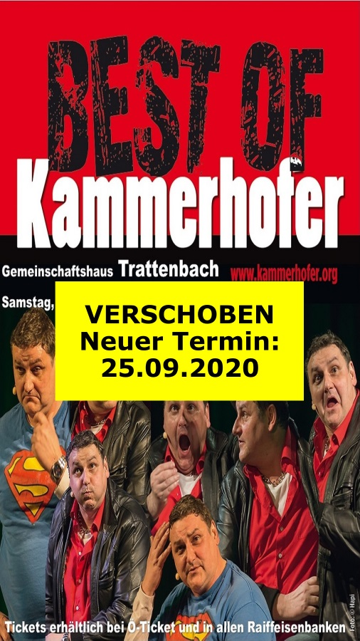 2021 03 06 Kammerhofer Best Of Plakat